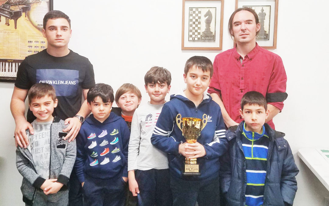 Angeleno Chess Club: Second Place in L.A!